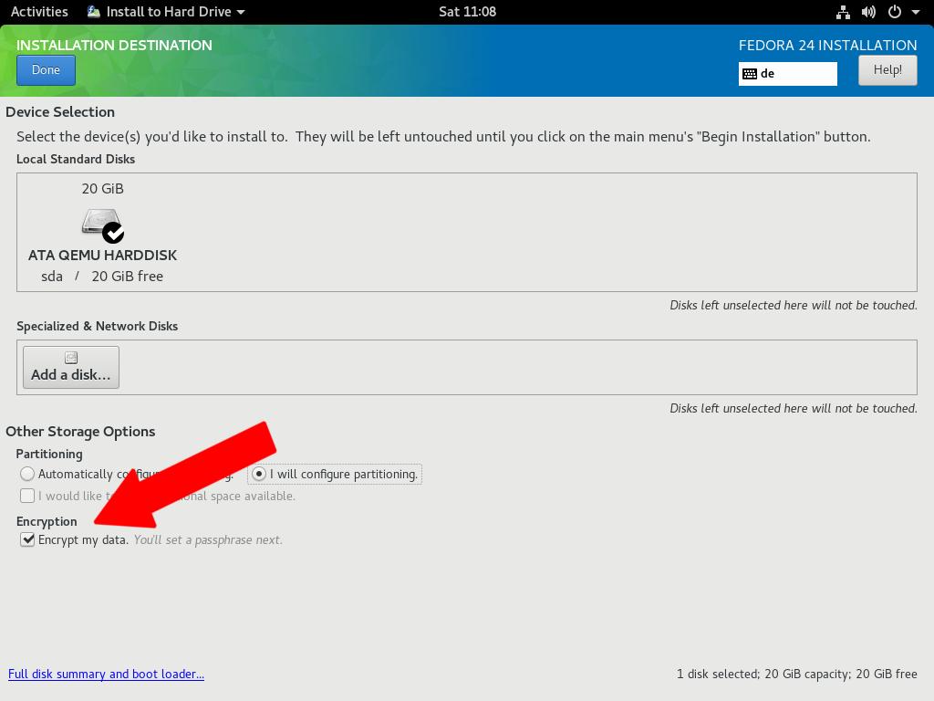 How to encrypt your Fedora file system - Fedora Magazine