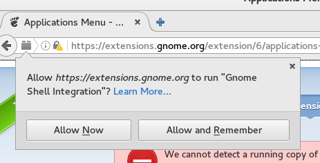 How to install a GNOME Shell extension - Fedora Magazine