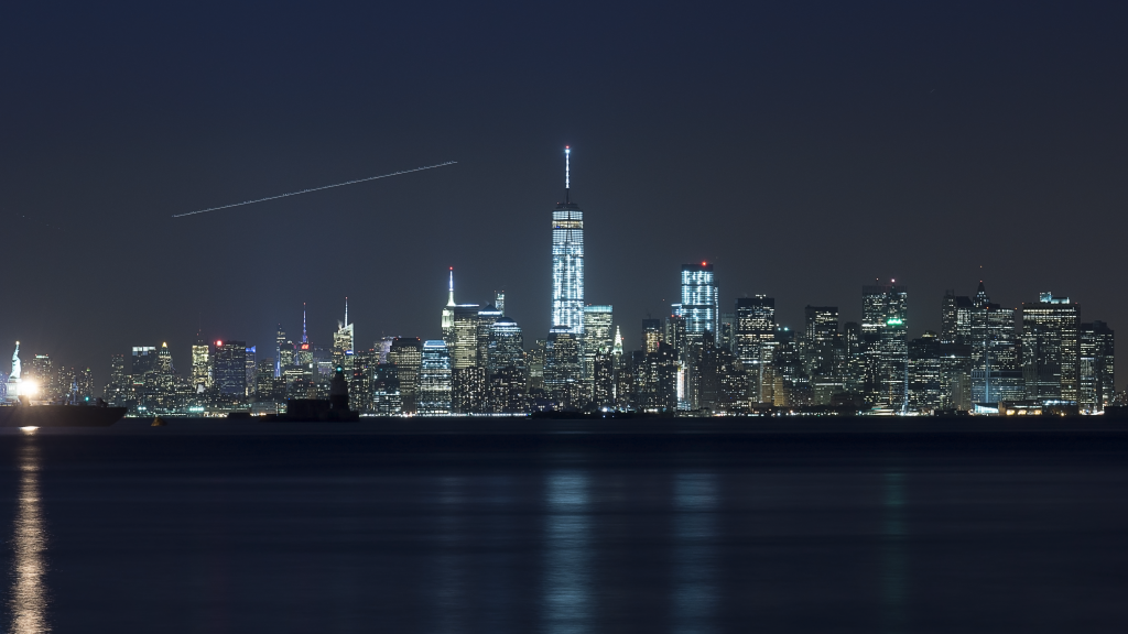 Fedora 25 wallpaper - Manhattan