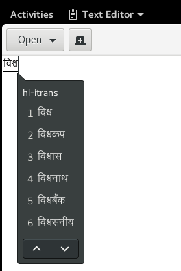 Predictions for Hindi